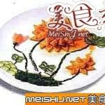 荷花豆腐大虾