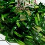 韭菜炒羊肝
