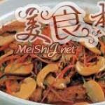 浇汁蘑菇烤豆腐