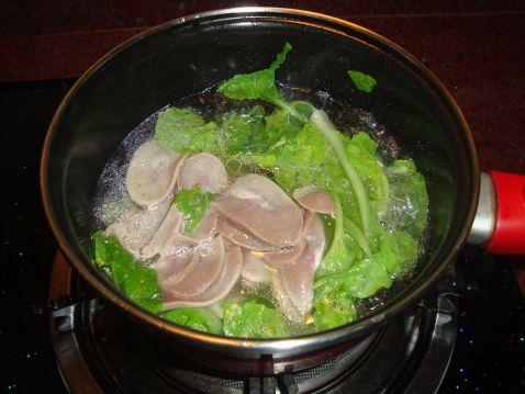 猪腰白菜汤怎么吃