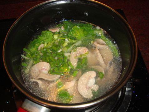 猪腰白菜汤怎么做