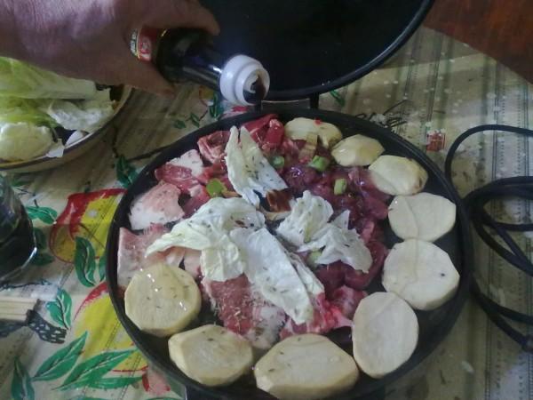 大锅菜怎么做