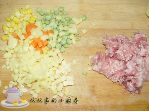 青椒土豆饼的做法图解