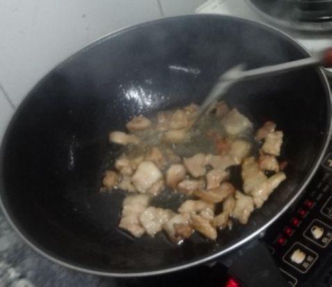 五花肉炒小白菜的做法大全