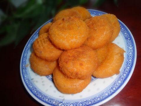 炸南瓜饼怎么做