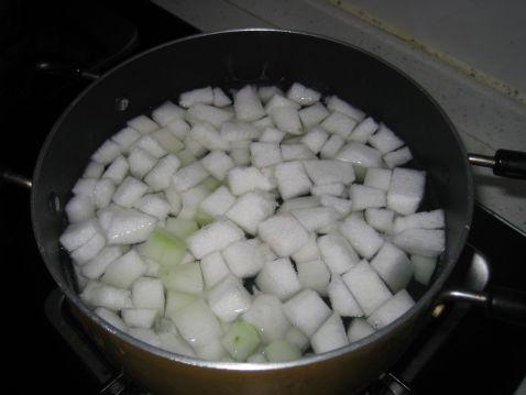 冬瓜豆腐玉米粒汤的做法图解