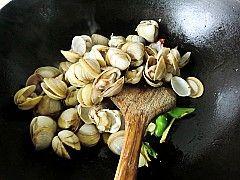 辣椒炒文蛤怎么吃