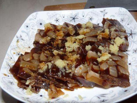 姜汁猪皮冻怎么煮