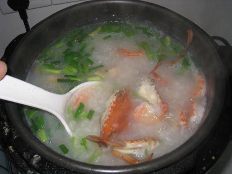 鲜甜虾蟹粥怎么炒