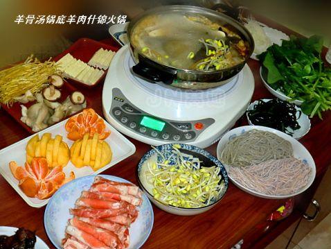 羊肉什锦火锅的做法大全