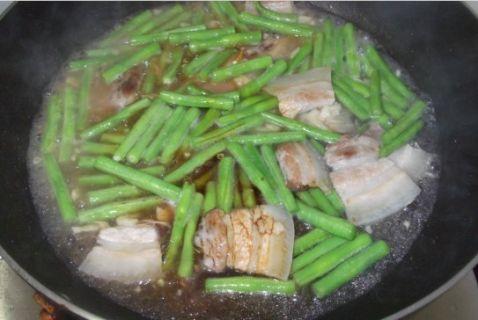 五花肉炒豆角怎么煮