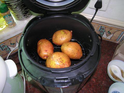 蒸土豆的简单做法