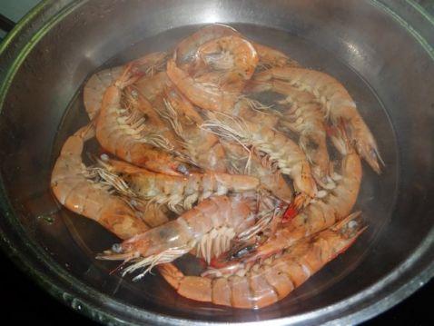 荷兰豆炒虾的做法图解