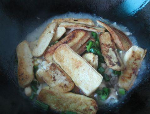 平菇豆腐怎么做