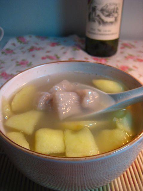 芋圆苹果汤的家常做法