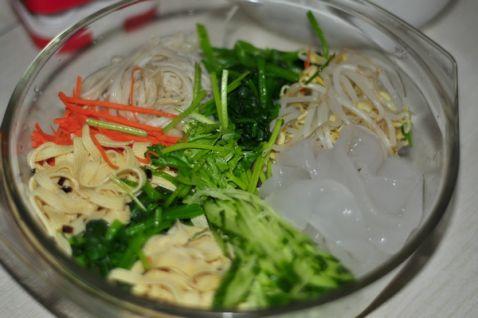 捞汁凉菜的简单做法
