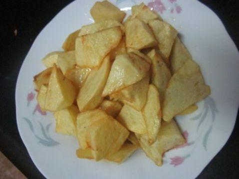 土豆挂浆怎么炒