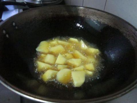 土豆挂浆怎么吃