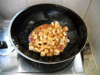蒜苗炒豆腐怎么煮