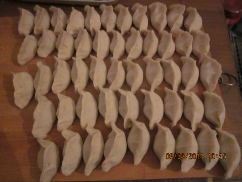 猪肉包菜水饺的家常做法