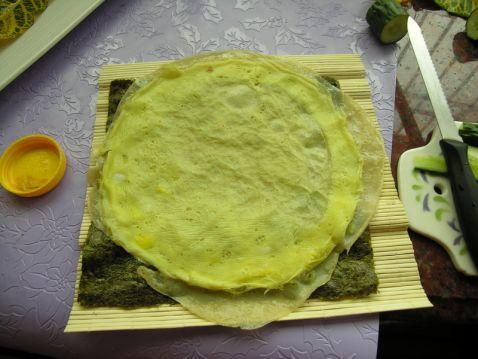 紫菜鸡蛋卷饼怎么吃