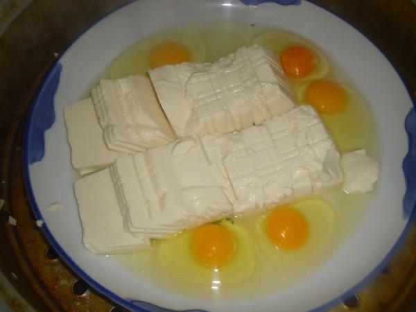内酯豆腐蒸蛋的简单做法