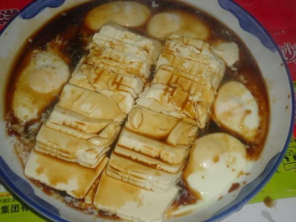 内酯豆腐蒸蛋怎么炒