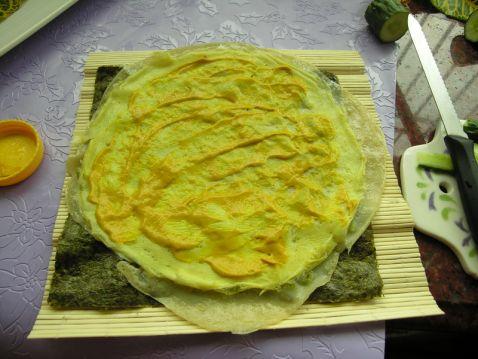 紫菜鸡蛋卷饼怎么做