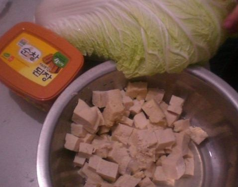 大白菜炖冻豆腐的做法大全