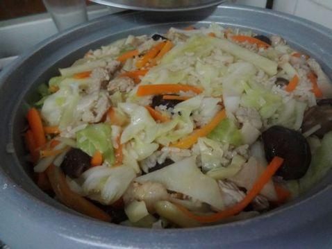 土豆咸饭的制作方法