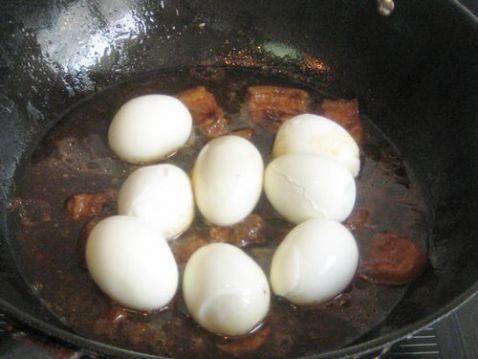 肉卤蛋怎么吃