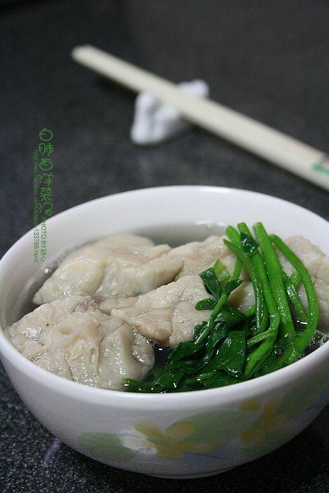 白肺西洋菜汤怎么煸