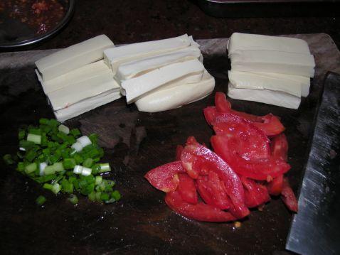 番茄煮豆腐的做法大全