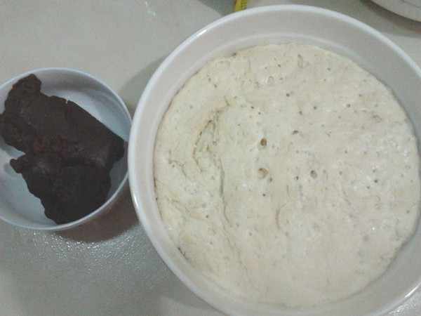 豆沙小花卷步骤1