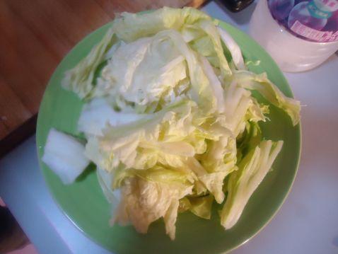豆腐炒白菜的做法图解