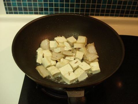 白菜豆腐炖粉条怎么炒