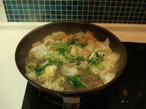 白菜豆腐炖粉条怎样煮