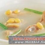 砂锅黄豆猪蹄