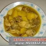 咖喱煮鸡块