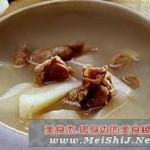 参片炖羊肉