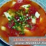 番茄豆腐鸡蛋汤