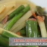 笋干炒蕨菜