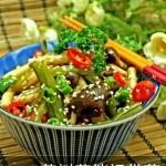 茶树菇拌裙带菜