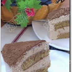 咖啡幕司蛋糕
