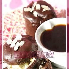 芝心巧克力脆皮蛋糕的做法