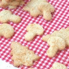 椰丝饼干的做法