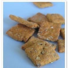 南瓜高纤粗麦饼干