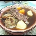 菜干马蹄排骨汤的做法