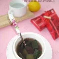 冬瓜皮红豆汤