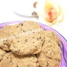豆渣黑芝麻饼干的做法